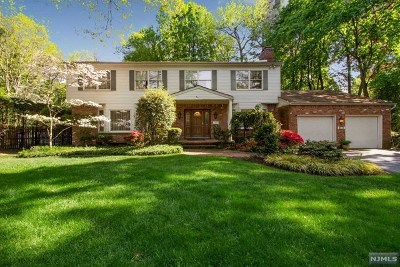 Tenafly Single Family Home Under Contract: 10 Marcotte Lane