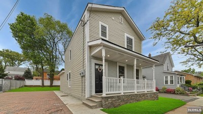 Carlstadt Single Family Home Under Contract: 615 1st Street