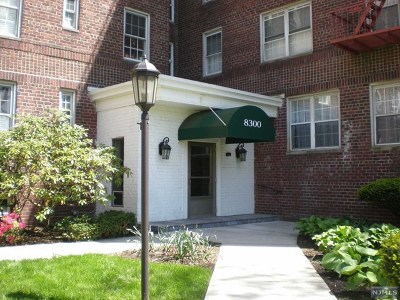 Hudson County Condo/Townhouse Under Contract: 8300 Boulevard East #4b