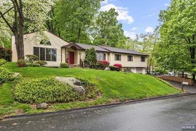 Bergen County Single Family Home Under Contract: 38 Manito Avenue