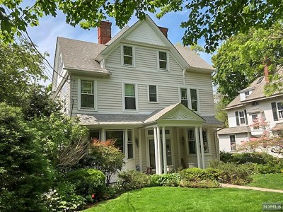 Englewood Single Family Home Under Contract: 46 Hillside Avenue