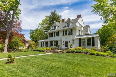 Essex County Single Family Home Under Contract: 163 Ridgewood Avenue