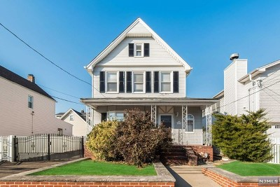 Hudson County Single Family Home Under Contract: 489 Chestnut Street