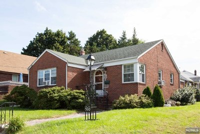 Hasbrouck Heights Single Family Home Under Contract: 498 Collins Avenue