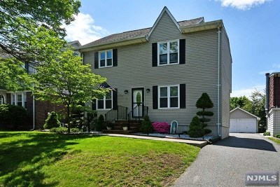 Bergen County Single Family Home Under Contract: 150 Parkway