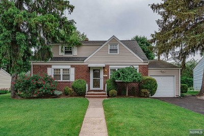 Fair Lawn Single Family Home Under Contract: 19-11 Radburn Road