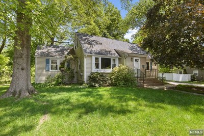 Hillsdale Single Family Home Under Contract: 114 Midland Avenue