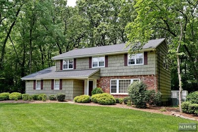 Bergen County Single Family Home Under Contract: 13 Fox Hill Road