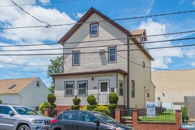 Passaic Single Family Home Under Contract: 136-138 Quincy Street
