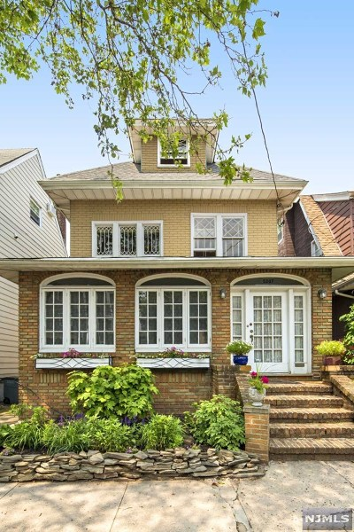 Hudson County Single Family Home Under Contract: 5307 Fairview Terrace