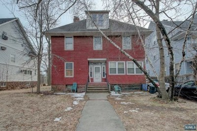Passaic County Single Family Home Under Contract: 225 Van Houten Avenue
