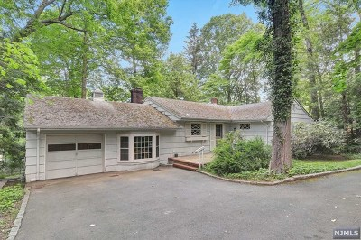 Tenafly Single Family Home Under Contract: 11 Ernst Place