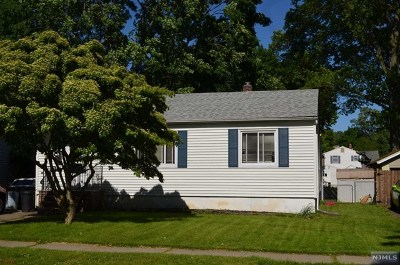 Pompton Lakes Single Family Home Under Contract: 161 Pine Street