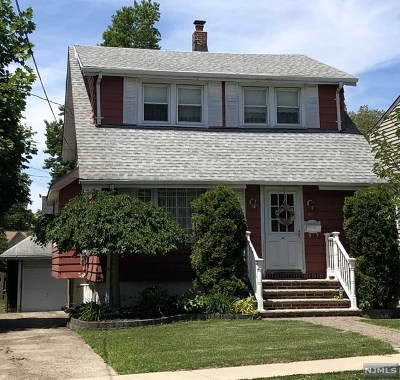 Bogota Single Family Home Under Contract: 192 Bogert Street