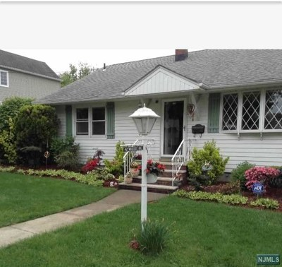 Hasbrouck Heights Single Family Home Under Contract: 42 Woodside Avenue