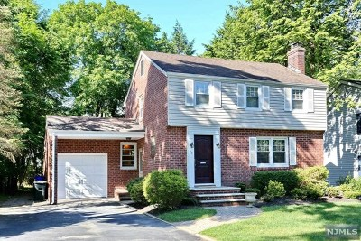 Closter Single Family Home Under Contract: 72 Chestnut Avenue