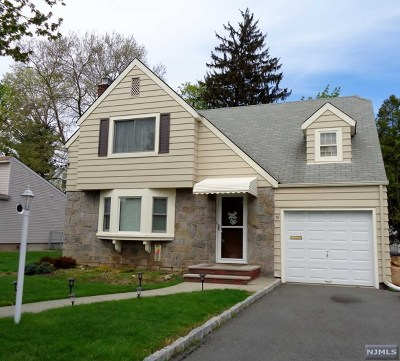 Passaic County Single Family Home Under Contract: 10 Doremus Place