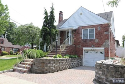 Hasbrouck Heights Single Family Home Under Contract: 270 Bell Avenue