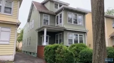 Essex County Multi Family 2-4 Under Contract: 512 South Clinton Street