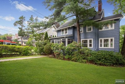 Essex County Single Family Home Under Contract: 60 Watchung Avenue