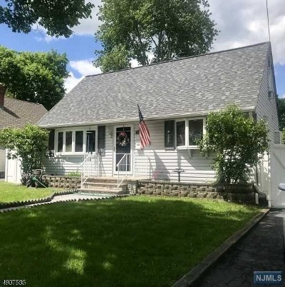 Pompton Lakes Single Family Home Under Contract: 115 Hershfield Street