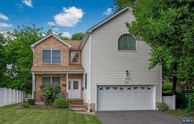 Hasbrouck Heights Single Family Home Under Contract: 283 Oldfield Avenue