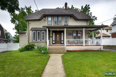 Hasbrouck Heights Single Family Home Under Contract: 322 Springfield Avenue