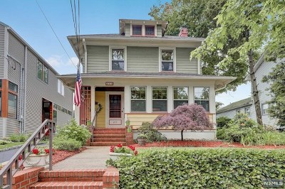 Rutherford Single Family Home Under Contract: 273 Santiago Avenue