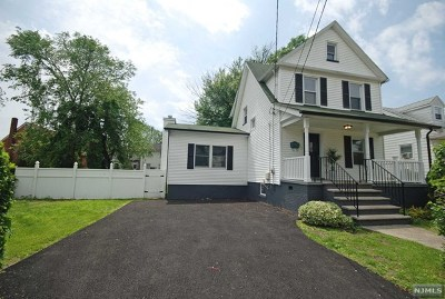 Hackensack Single Family Home Under Contract: 193 Clay Street