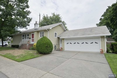 Fair Lawn Single Family Home Under Contract: 15 Pomona Avenue