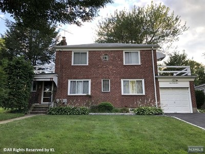 Bergen County Single Family Home Under Contract: 393 Windsor Road