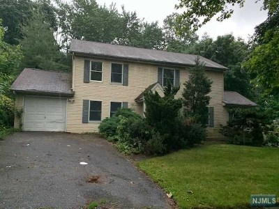 Bergen County Single Family Home Under Contract: 234 Zabriskie Place