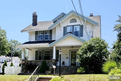 Bergen County Single Family Home Under Contract: 122 Lexington Avenue