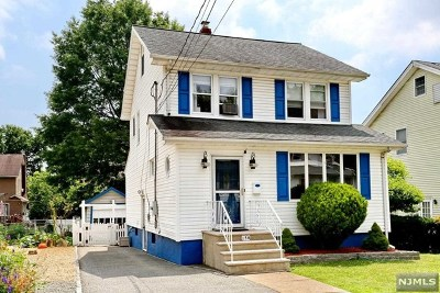 Bogota Single Family Home Under Contract: 158 Chestnut Avenue