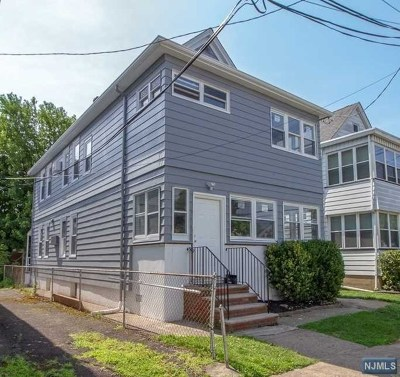 Passaic County Multi Family 2-4 Under Contract: 5 High Street