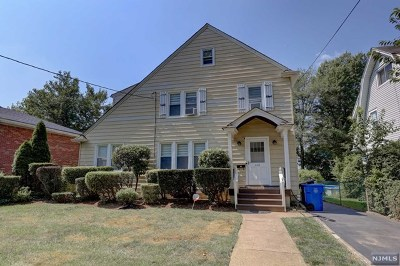 Englewood Single Family Home Under Contract: 172 Rockwood Place