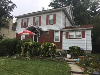 Englewood Single Family Home Under Contract: 294 Knickerbocker Road