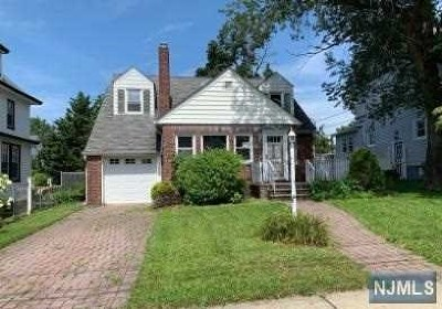 Hasbrouck Heights Single Family Home Under Contract: 117 Lawrence Avenue