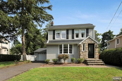 Oradell Single Family Home Under Contract: 458 Hasbrouck Boulevard