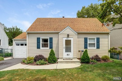 Passaic County Single Family Home Under Contract: 80 Birchwood Terrace