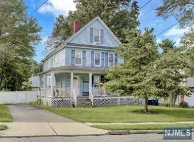 Bergenfield Single Family Home Under Contract: 16 Armour Place