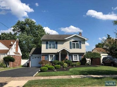 Bergen County Single Family Home Under Contract: 4 Blue Ridge Road