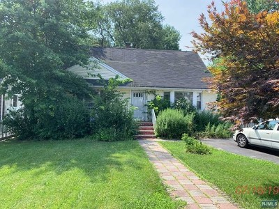 Englewood Single Family Home Under Contract: 250 Tenafly Road