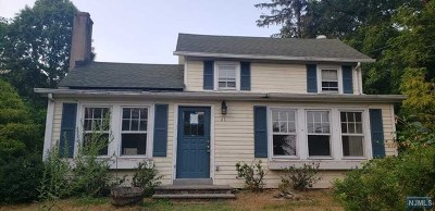 Bergen County Single Family Home Under Contract: 21 Franklin Avenue