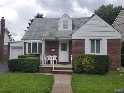 Fair Lawn Single Family Home Under Contract: 9-06 6th Street