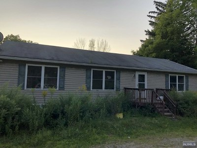 West Milford Single Family Home Under Contract: 771 Warwick Turnpike