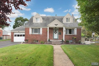 Fair Lawn Single Family Home Under Contract: 72 Yerger Road