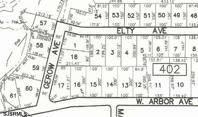 Vineland Residential Lots & Land For Sale: 3364 Gerow Ave