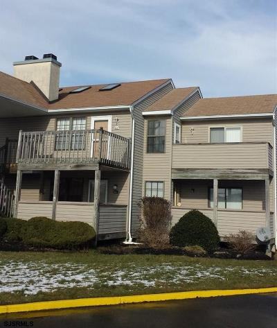 Egg Harbor Township, Northfield Condo/Townhouse For Sale: 402 London Court Ii #402