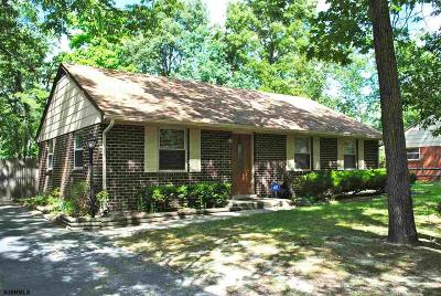 Millville Single Family Home For Sale: 1010 Louis Dr